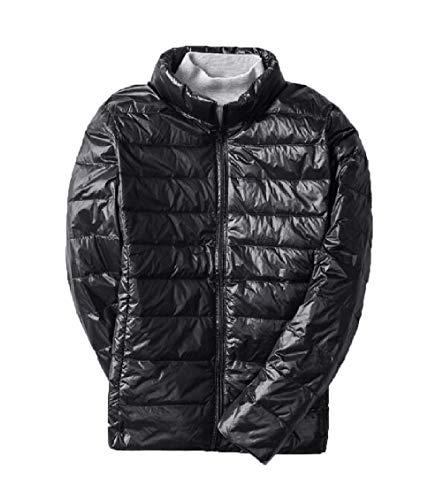 Gocgt Womens Packable Ultra Light Weight Short Down Jacket Coats Black