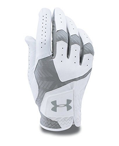 Under Armour Men's CoolSwitch Golf Glove, White (102), Left Large - Glove Golf