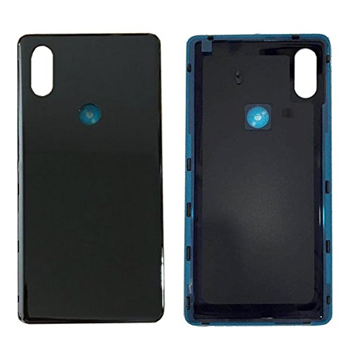 Ceramic Material Rear Battery Door Housing back Cover Replacement For Xiaomi Mix 2S/Mi mix 2s black by General