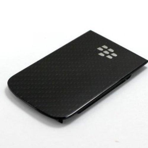 (Genuine Carbon Fibre Battery Back Door Cover For BlackBerry 9900 Bold)