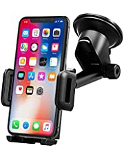 Mpow Car Phone Holder, Dashboard Windscreen Car Phone Mount, Universal Car Cradle with One Button Release&Strong Sticky Gel Pad for iPhone 11 Pro Max 11 Pro Xs Max Xs Xr X 8 7 Plus, Galaxy, HTC,etc