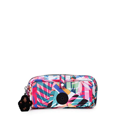 Kipling Wolfe Printed Pencil Pouch Patchwork Garden