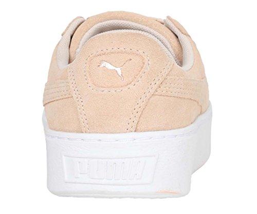 Plateforme En Daim Puma Damen Lunalux Wns Espadrille Beige (crème Tan)