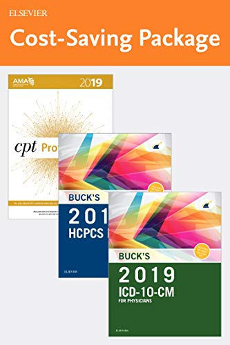 2019 ICD-10-CM Physician Edition, 2019 HCPCS Professional Edition and AMA 2019 CPT Professional Edition Package