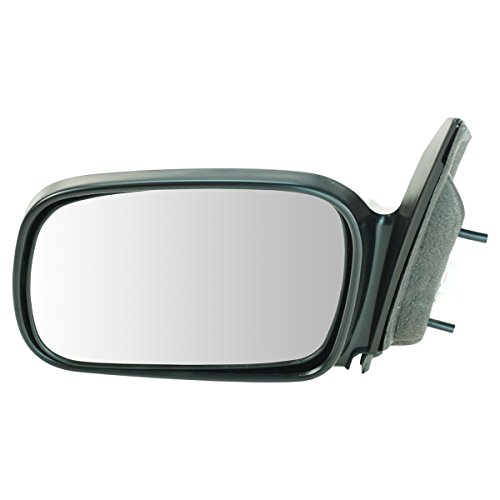 Coupe Power Side Mirrors (Power Side View Mirror Driver Left LH for 06-11 Honda Civic 2 Door Coupe)