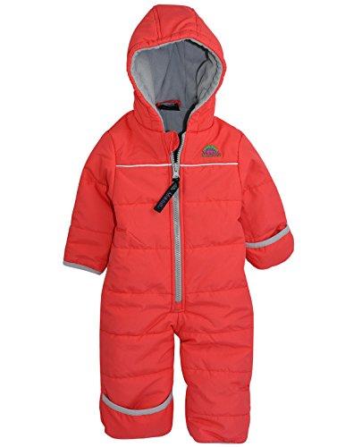 Molehill Bunting Suit, Light Red, 9 ()