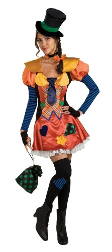 Rubie's Costume Female Raggedy Hobo Clown, Multicolored, One Size (Too Revealing Halloween Costumes)