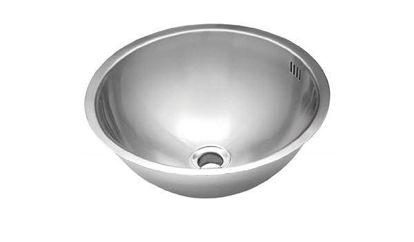 Wells Sinkware JZU1717-7-1 20-Gauge Single Bowl Undermount Kitchen//Bar Sink Package Stainless Steel