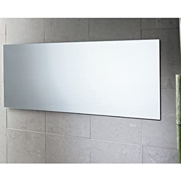 Gedy 2552-13 Planet Edge Vanity Mirror, Polished, 39 x 16