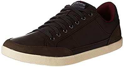SKECHERS Placer, Men's Sneakers, Brown (Chocolate), 8 UK (42 EU)