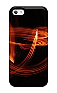 Premium Fire Juggling Back Cover Snap On Case For Iphone 5/5s