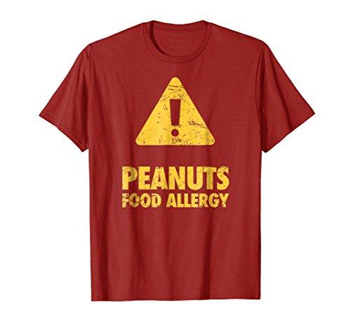 Food Allergies Warning Sign - Peanuts Allergy ()