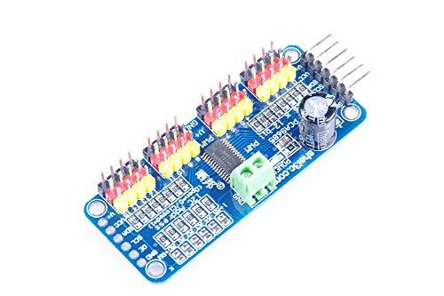 (KNACRO 16-Channel 12-bit PWM Servo Driver Board IIC Interface PCA9685 Module Controller For Arduino Robot)