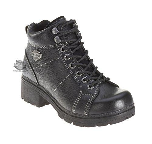 "Harley-Davidson Women's Tyler 6"" Boot,Black,9 M"