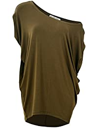 6ed5441b771 Women s Casual Off Shoulder T Shirts Blouse and Short Sleeve Plus Size Tops