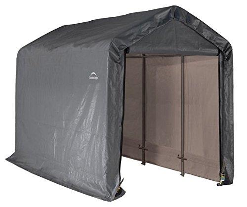 早割クーポン! Shed &ストレージシリーズshed-in-a-box 6フィートX 8 12フィートX 3.7 8 FT。1 , 8 2 x 3.7 X 2 , 4 Mグレー(カバー) B01BVYXJCO, リビングデイ:0c2e68c7 --- pizzaovens4u.com