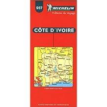 Michelin Ivory Coast Map No. 957