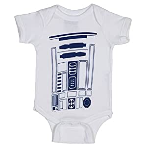 R2d2 Star Wars Costume Infant Baby Romper Snapsuit 18-24 Months