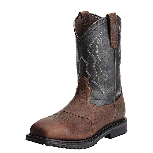 ARIAT Men's Rigtek Waterproof Composite Toe Work Boot Oiled Brown Size 12 Ee/Wide Us