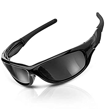 CAMTOA Gafas de Sol Deportivas Polarizadas, Sunglasses con 100% UV400 Proteccion & TR90 Marco