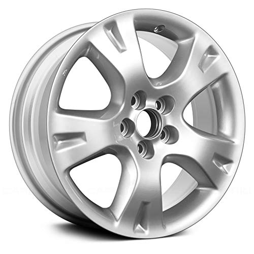 (Replacement 5 Spokes Silver Factory Alloy Wheel Fits Toyota Matrix)