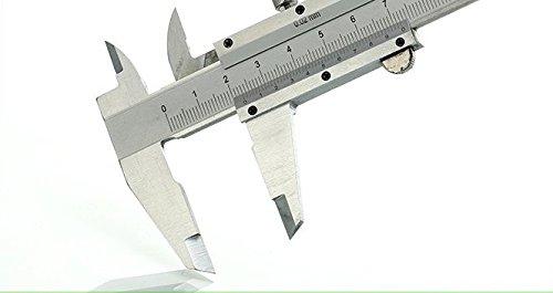 D-01 0-100mm 0.02mm Precision Metalic Mechanical Vernier Caliper Measuring Tool