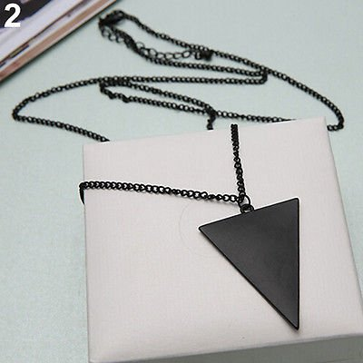 Fashion Jewelry Triangle Pendant Necklace
