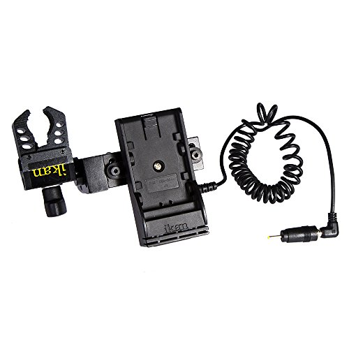 Ikan BMPCC-PWR-PN-E6 Blackmagic Pocket Cinema Camera DV Power Kit with Clamp for Canon E6 (Black) by Ikan