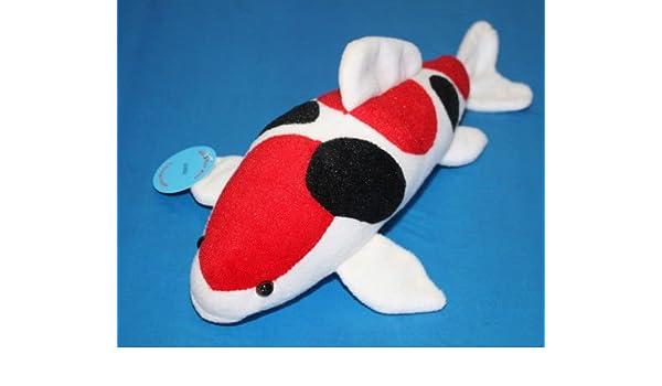 Amazon com : Koi Fish Sanke Stuffed Plush Soft Toy Great