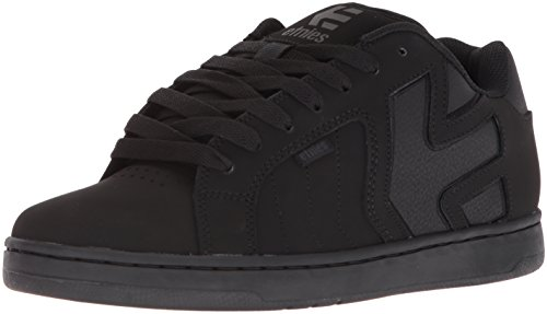 Etnies Men's Fader 2 Skate Shoe, Black/Black/Black, 10.5 Medium US (2 Mens Skateboard Shoes)