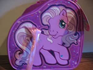 My Little Pony purple Lunch Bag lunchbox with pink tail