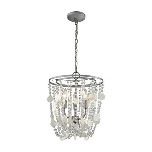 ELK Lighting 15935/3 Chandelier, One Size, Gray