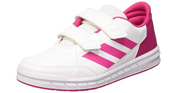 14b5a8079 Adidas Alta Sport, Unisex Kid's Fitness & Cross Training Shoes, Ftwr  White/Real Magenta, 3.5 UK (36 EU) (D96828): Amazon.ae