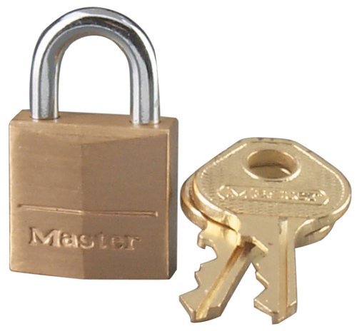 Master Lock 120D Brass Padlock ()