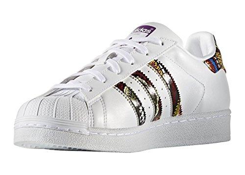 adidas Superstar W S76415, Scarpe Sportive Bianco
