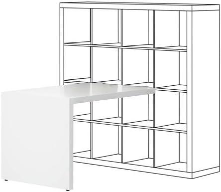 Zigzag Trading Ltd IKEA Kallax - Escritorio Blanco: Amazon.es: Hogar