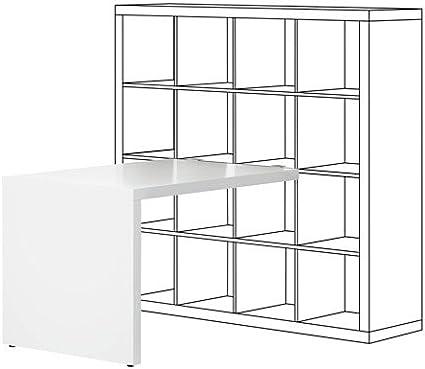 ZigZag Trading Ltd IKEA Kallax – Escritorio Blanco: Amazon.es ...