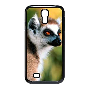 ANCASE Customized Lemur Pattern Protective Case Cover Skin for Samsung Galaxy S4 I9500