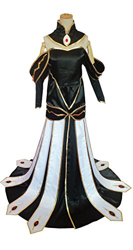 Dreamcosplay Anime Code Geass C.C. Queen Dress Cosplay (Code Geass Uniform Costumes)