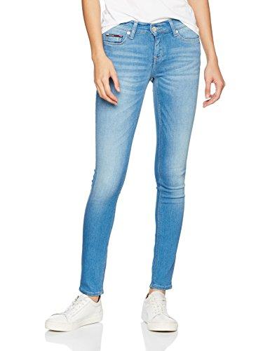 Tommy_Jeans Mid Rise Skinny Nora Scst Femme Bleu (Santa Cruz Stretch 567)