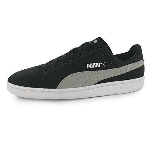 Smash Unisex Gray Black – Black Canvas Nero Limestone Adulto da Scarpe Puma Tennis Xdg7Xw
