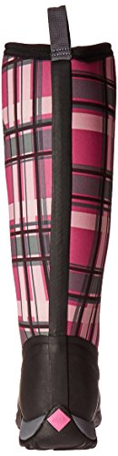 Muck Boot Women's Arctic Adventure Tall Snow Boot, Black/Pink Plaid, 10 US/10 M US by Muck Boot (Image #2)