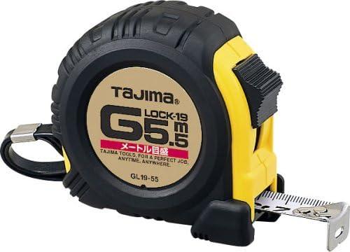 タジマ(Tajima) コンベックス Gロック-19 5.5m 19mm幅 メートル目盛 GL19-55BL