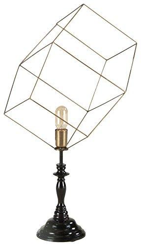 World Interiors Furniture ZWNKTL7263 Nikola Abstract Cube...