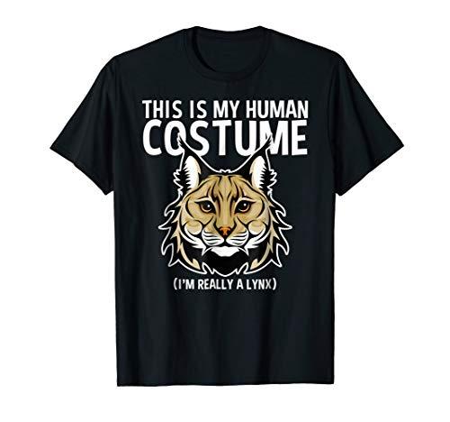 (Human Costume Shirt I'm Really A Lynx)