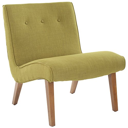 Modern Easy Chair (Safavieh Mercer Collection Owen Mid-Century Modern Green Lounge)