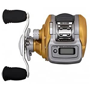 Daiwa accudepth 15 digital line counter reel left for Digital fishing reel