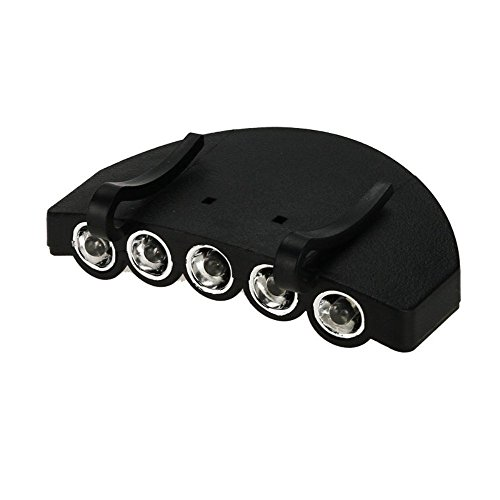 Flashing Panda 5 LED Baseball Cap/Hat Clip-on Flashlight,...