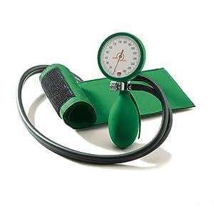 boso clinicus II - Tensiómetro de brazo (manguito con cierre de velcro), color verde
