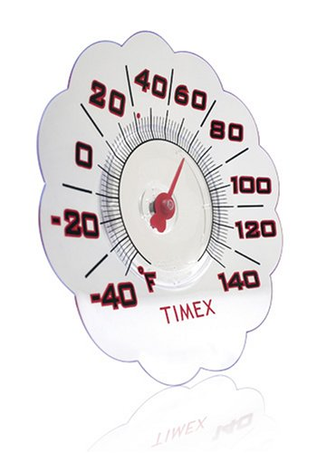 Timex 7-Inch Suction Cup Window Thermometer (TX1011) (Window Cling Thermometer compare prices)